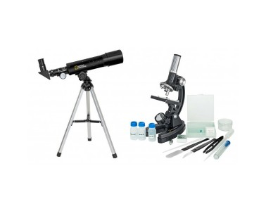 Kit microscopio telescopio National Geographic 9118000