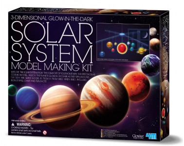 3D Solar System Model Making Kit 4M